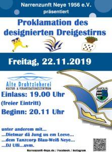 Proklamation @ Alte Drahtzieherei,